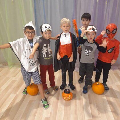 Helovīna svinības bērnudārzā
