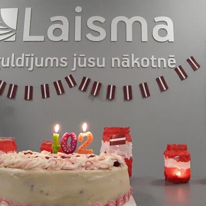 Daudz laimes dzimšanas dienā, Latvija!
