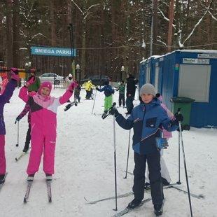 Sporta diena Sniega parkā