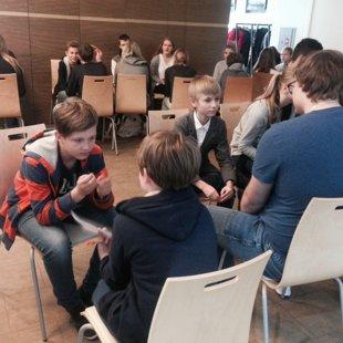 Mediju pratības nodarbība Eiropas Mājā