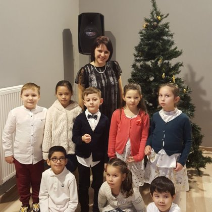 Ziemassvētku pasākums 1. un 2.klasei