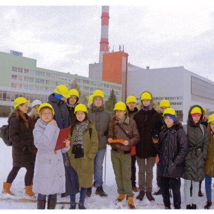 Ekskursija uz Rīgas TEC