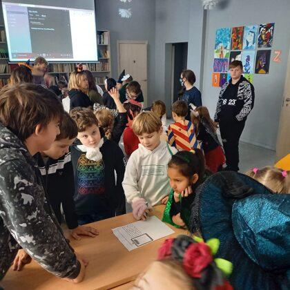 Helovīna svinības skolā 2020./2021. m.g.