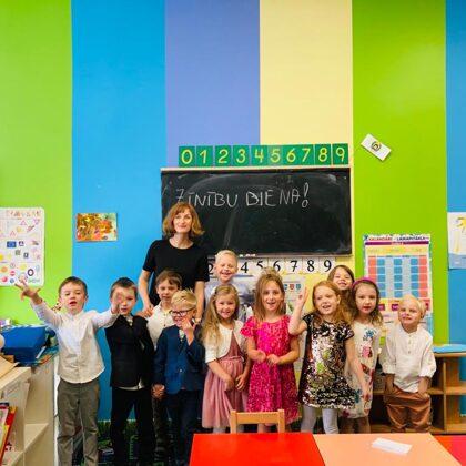 1. septembra svinības bērnudārzā